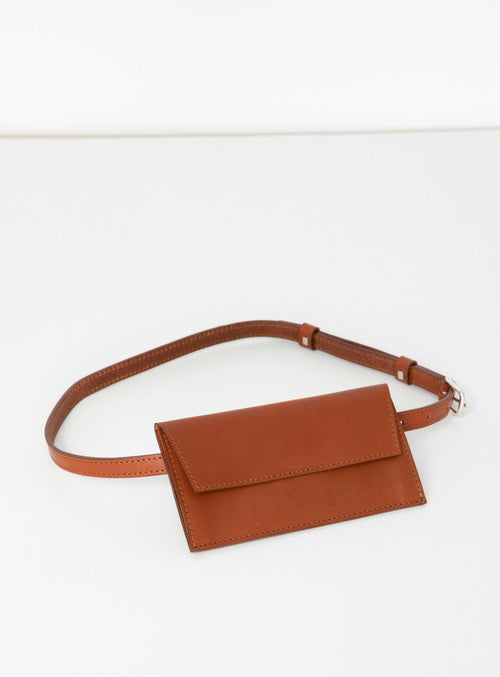 BE02 Pocket Belt Brown  - View 1