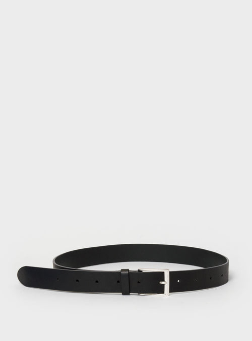 BE01 Belt Black - View 2