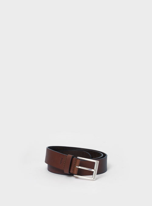 BE01 Belt Dark-Brown / S  - View 1