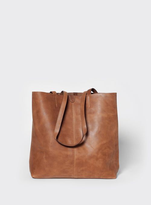 TB02 Tote Bag Brown - View 2