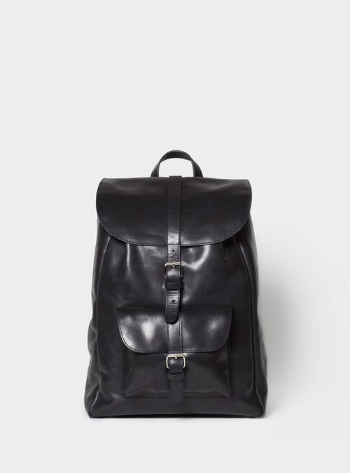 BP01 Backpack Black  - View 1