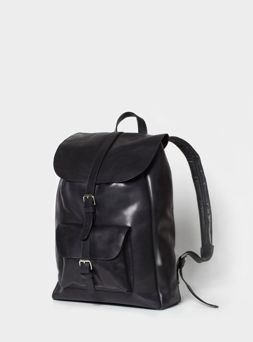 BP01 Backpack Black - View 2