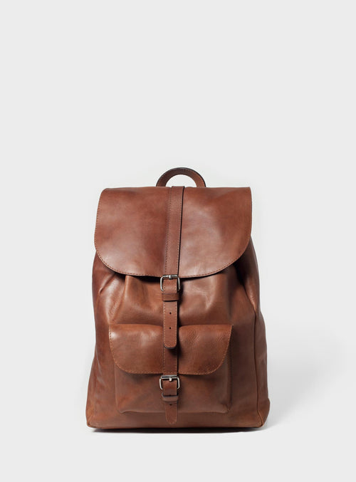 BP01 Backpack Brown  - View 1