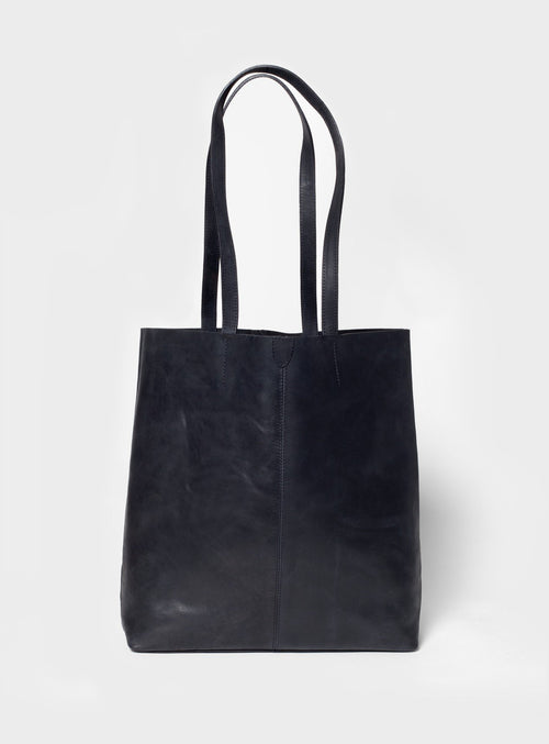 TB02 Tote Bag Black  - View 1