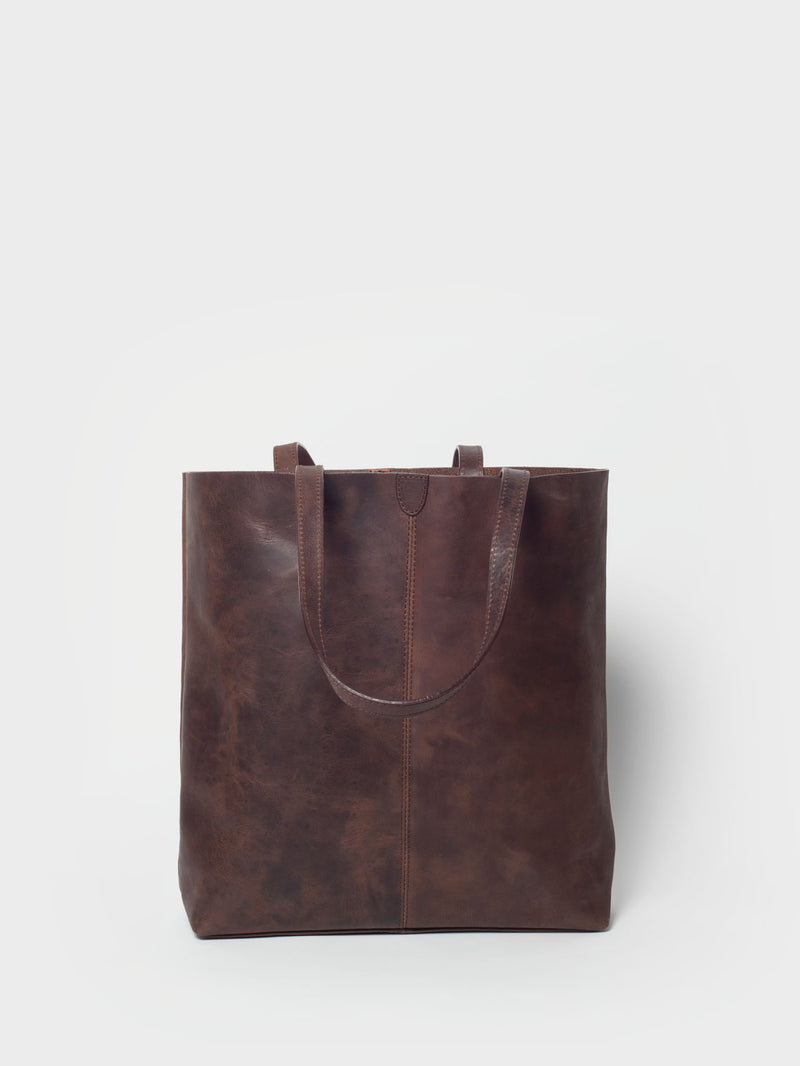 PARK Tote Bag TB02 Dark-Brown