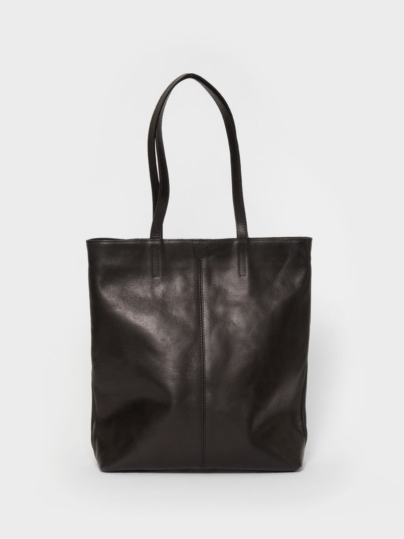 PARK Tote Bag TB02 ZIP PLUS Black