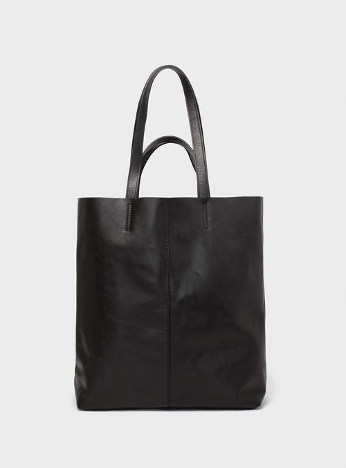 TB02 STRAPS Tote Bag Black  - View 1