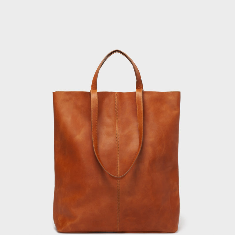 PARK Tote Bag TB02 STRAPS Brown
