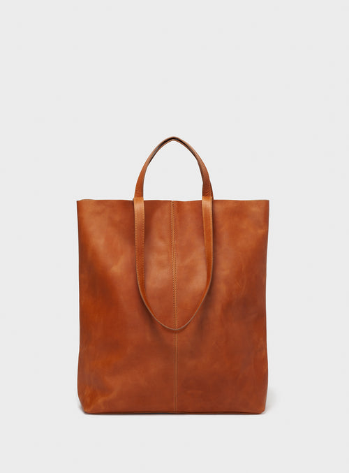 TB02 STRAPS Tote Bag Brown - View 2