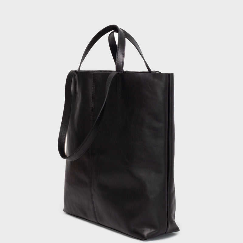 PARK Tote Bag TB02 STRAPS Black
