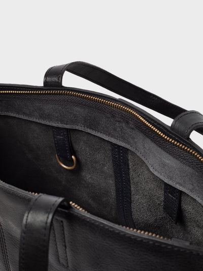 PARK Tote Bag TB02 ZIP Black, scenery