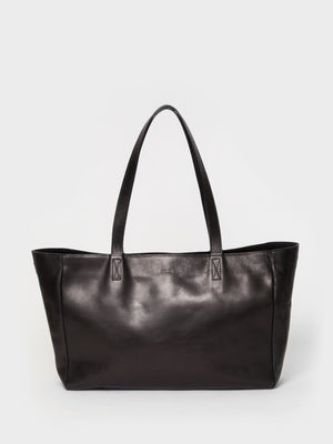 PARK Tote Bag TB03 ZIP Black