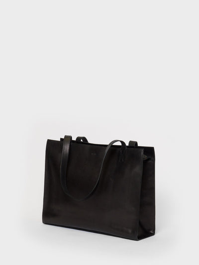 PARK Tote Bag TB05 ZIP Black