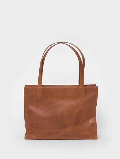 PARK Tote Bag TB05 ZIP Brown