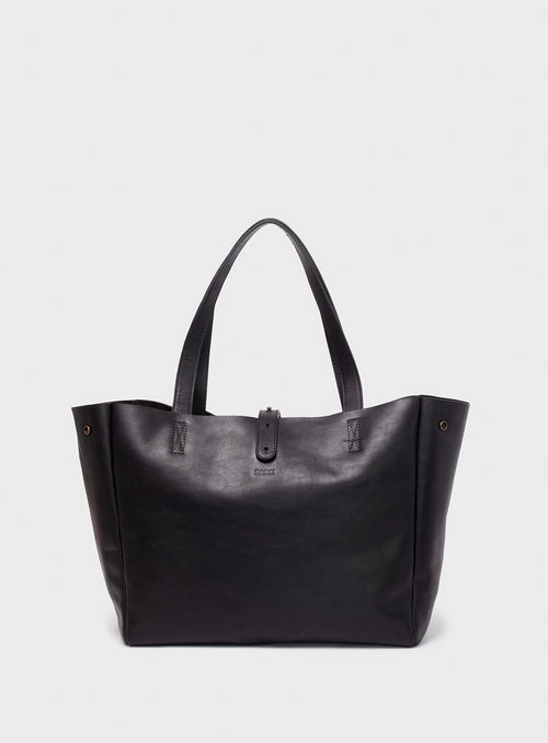 TB06 Tote Bag Black  - View 1