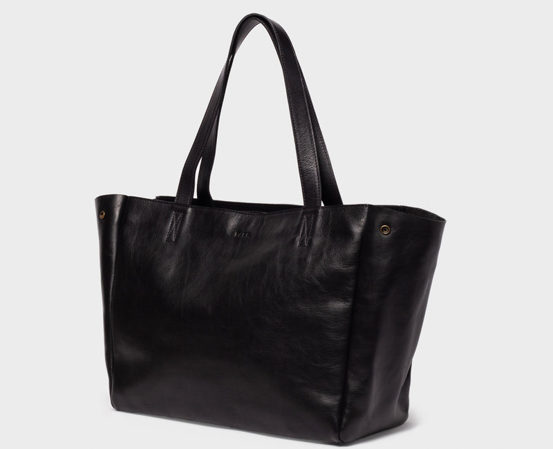 PARK Tote Bag TB06 ZIP Black