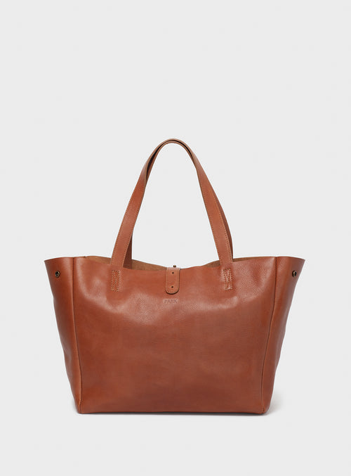 TB06 Tote Bag Brown  - View 1