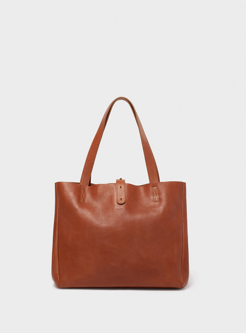 TB06 Tote Bag Brown - View 2