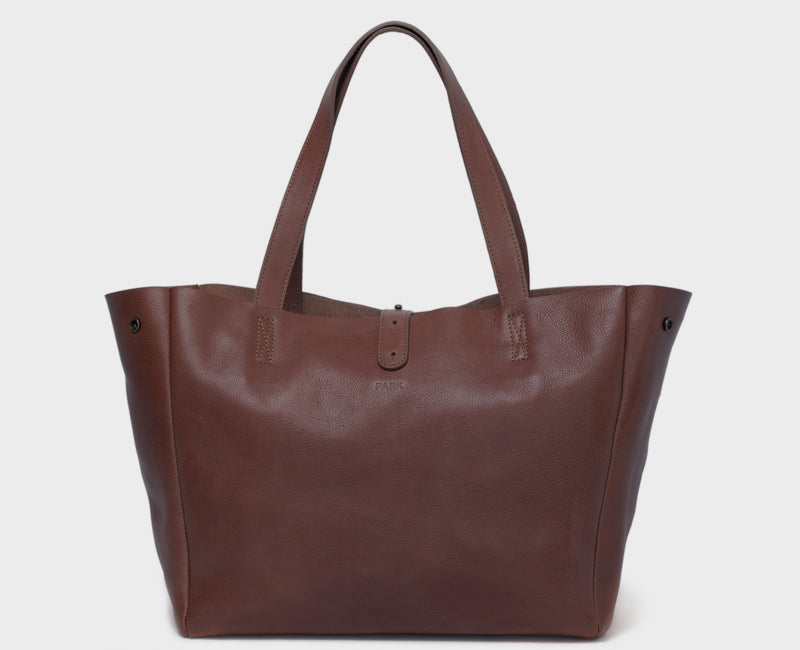 PARK Tote Bag TB06 Dark-Brown