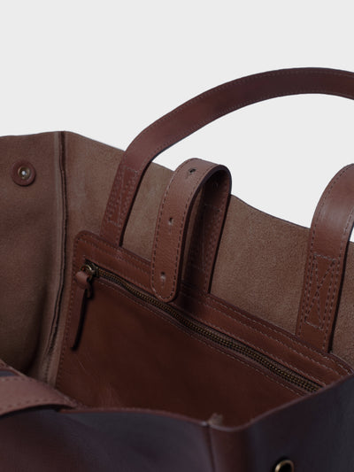 PARK Tote Bag TB06 Dark-Brown, scenery