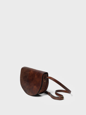 PARK Crossbody Bag CB03 Dark-Brown