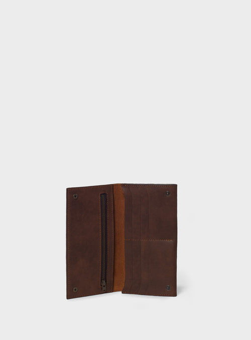 WL03 Wallet Dark-Brown - View 2