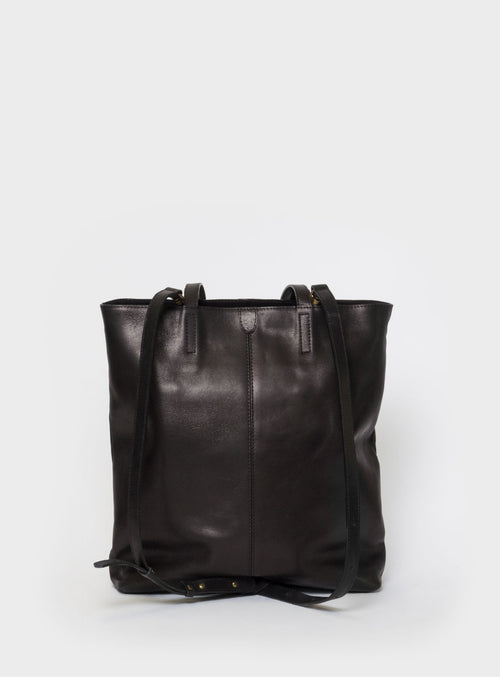 TB02 ZIP PLUS Tote Bag Black - View 2