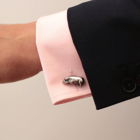 The Victorian Toy Pig Cufflinks