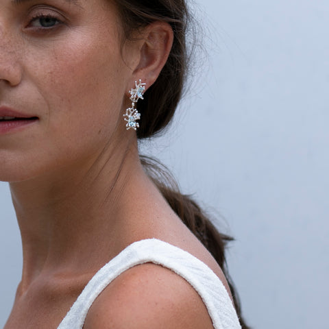 The Two Mile Reef Earrings