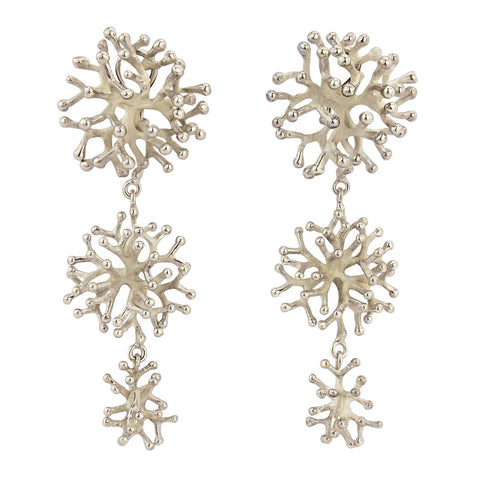 The Kwe Kwe Coral Earrings