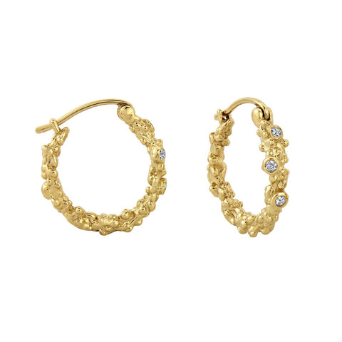 The Ilsa Coral Hoops