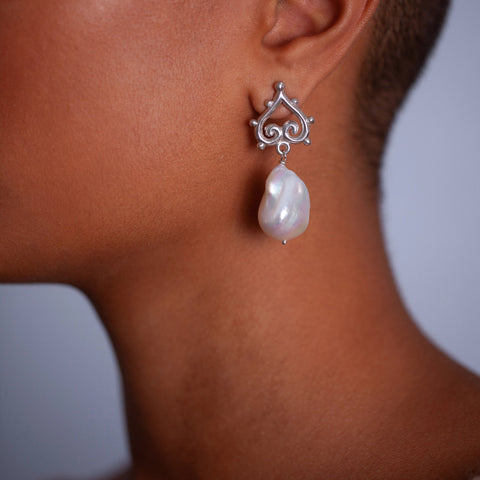 Fragments of Riverbed Secrets Earrings