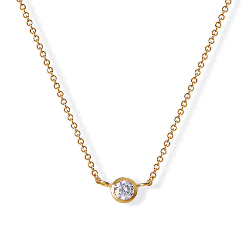Cloud Nine Solitaire Necklace