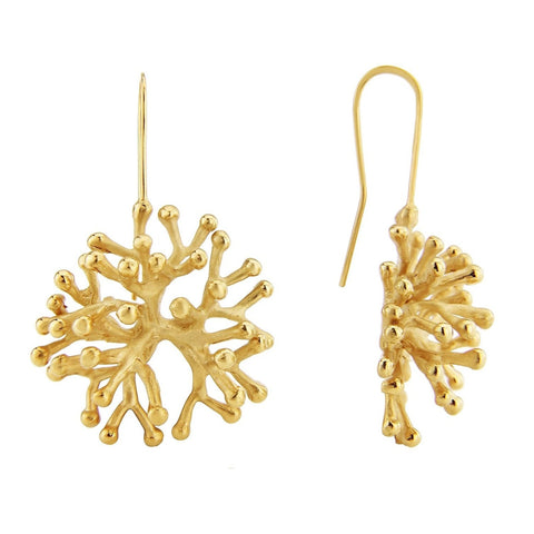 The Larger Agwe Coral Earrings
