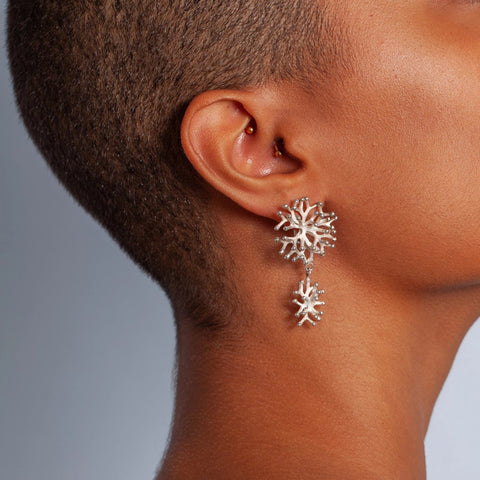 The Benguerra Coral Earrings