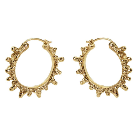 The Oria Coral Hoops