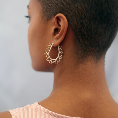 The Tia Coral Hoops Combi