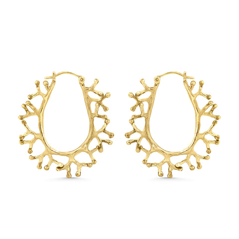 The Tia Coral Hoops