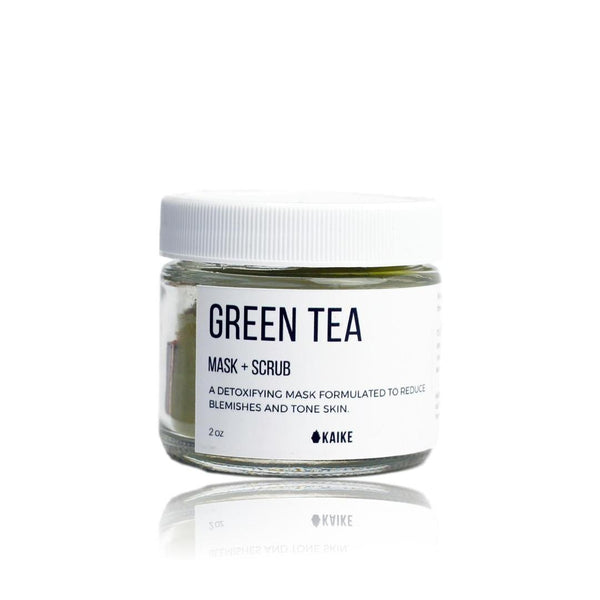 Kaike Green Tea Mask & Scrub - TheBeautiful.Store