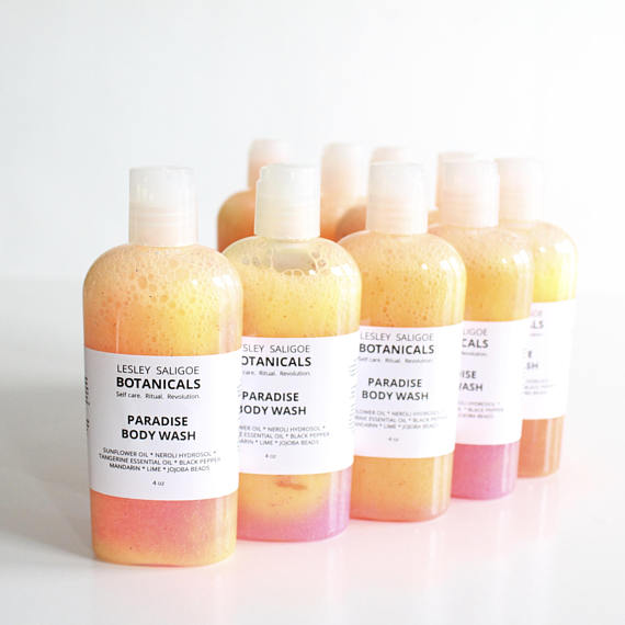 Lesley Saligoe Botanicals - Paradise Body Wash - TheBeautiful.Store