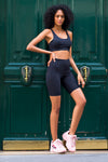 Highway Black Biker Short