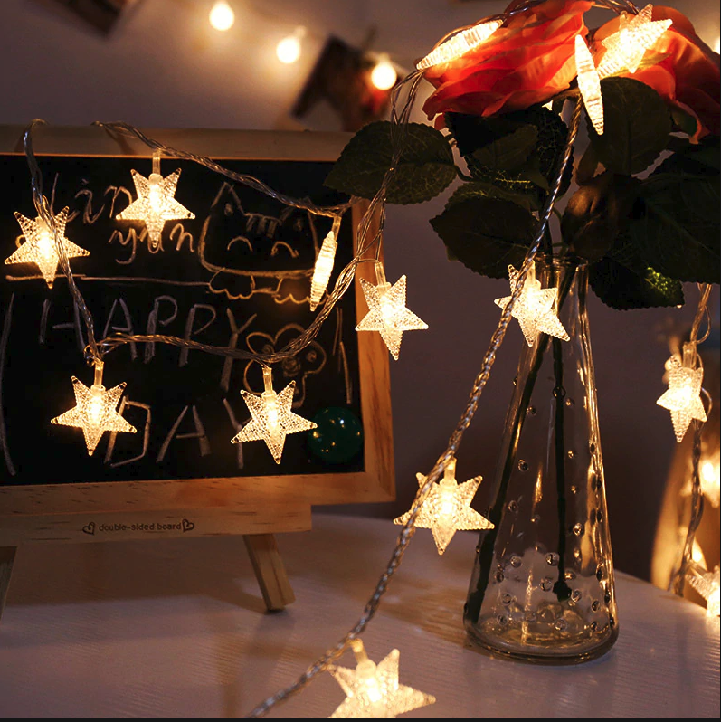 2m star fairy light