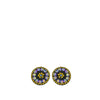 Allegra Purple Shimmer stud earrings