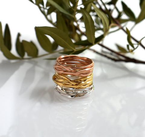 Lattice thin rings