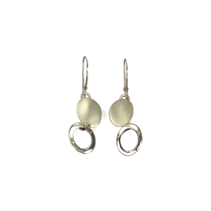 Coco Silver Drop Earrings