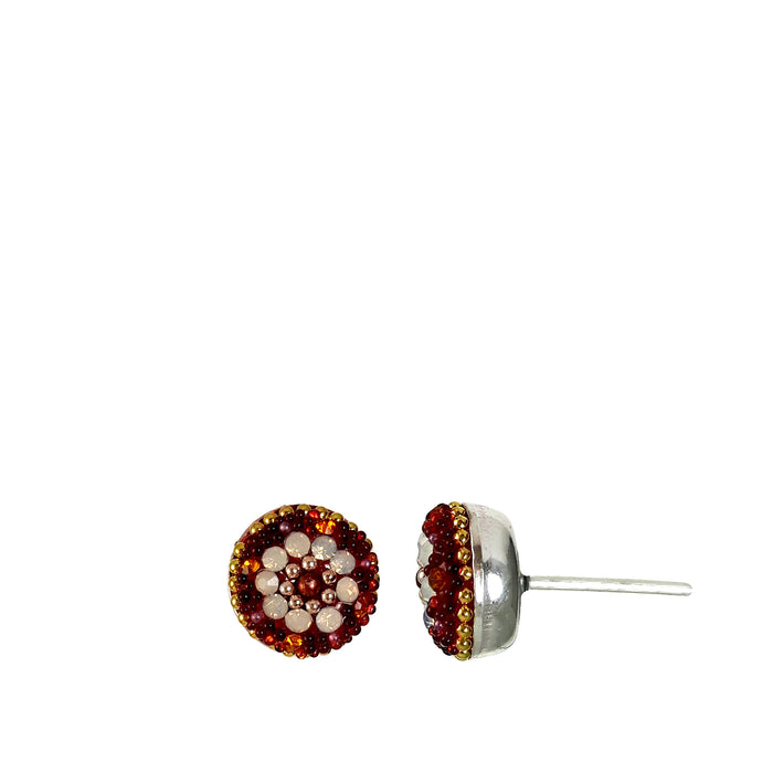 Allegra Berry Daisy Stud Earring