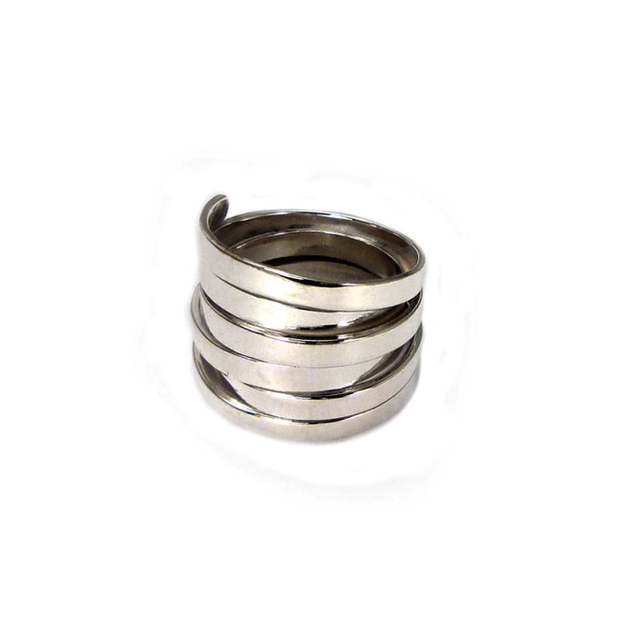 Chique Silver Medium Ring