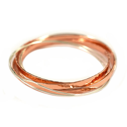 Malibu Copper/Silver Bangle