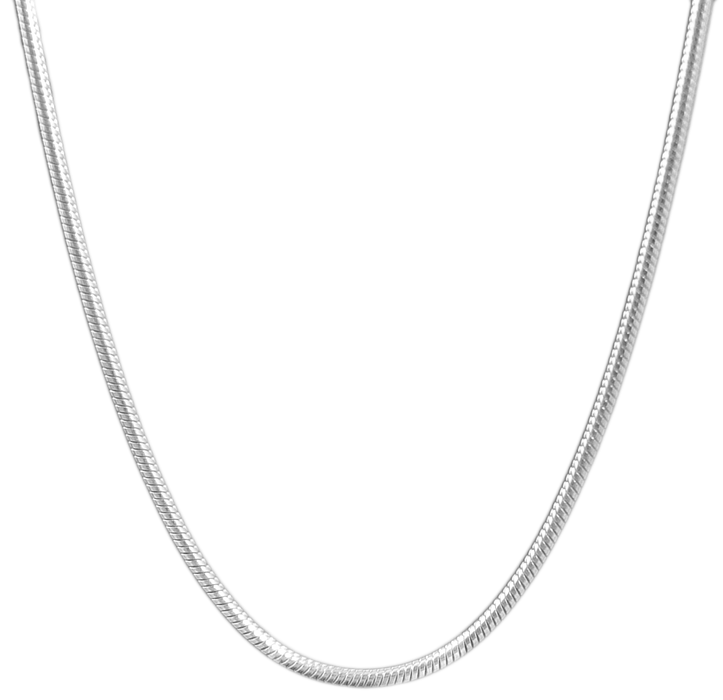 Tonda Matt Sterling Silver 120 40cm Chain
