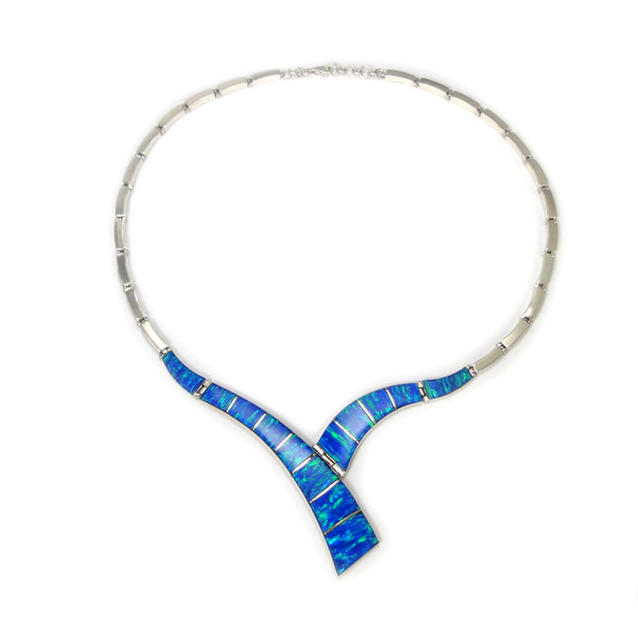 Flinder Blue Inez Necklace